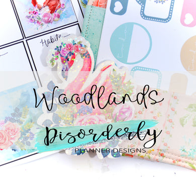 Woodlands Sticker Pack