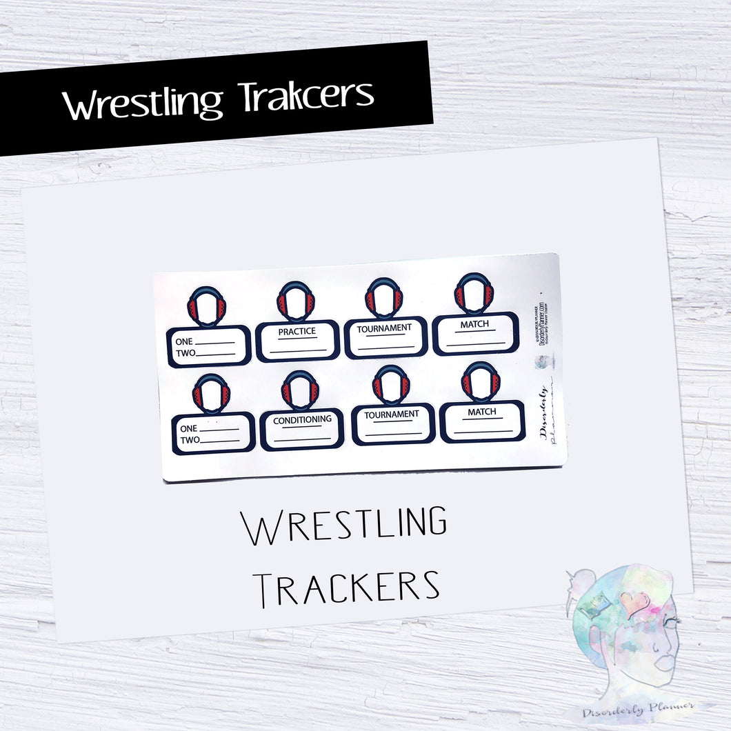 Wrestling tracker Write ins