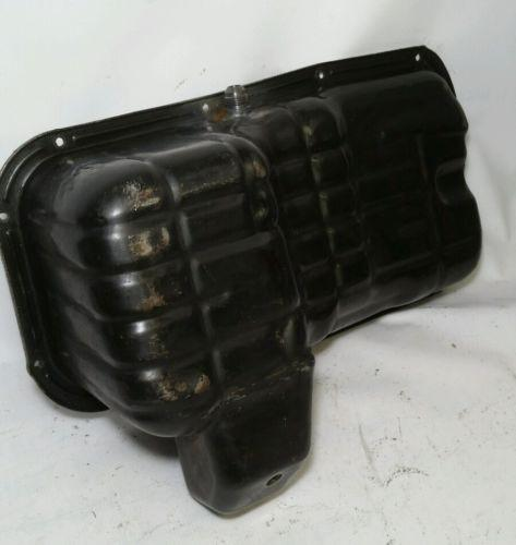 Nissan KA24det Tapped Oil Pan - Sideways Fab