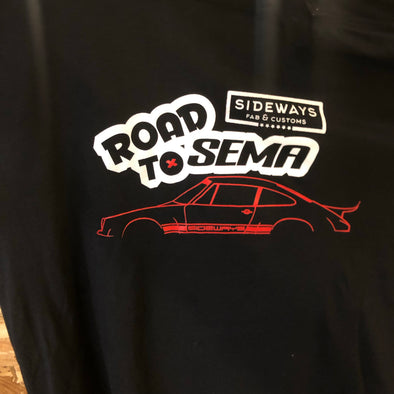 ROAD TO SEMA Shirt - Sideways Fab