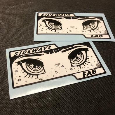 Eyeball Fantasy Sticker - Sideways Fab