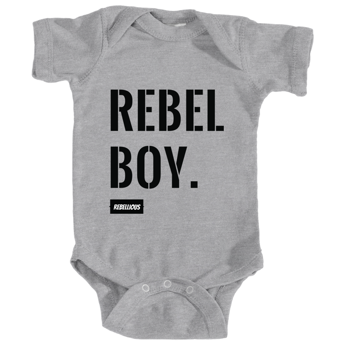 Baby Bodysuit: Rebel Boy
