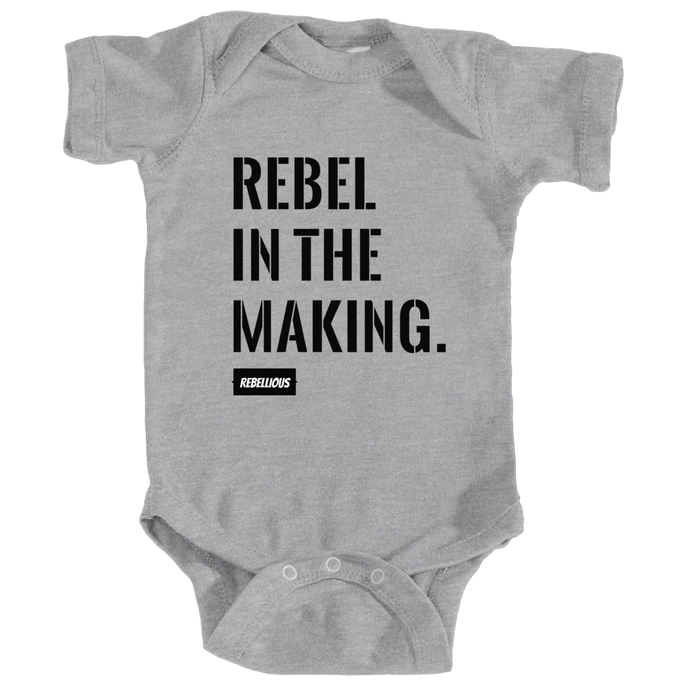 Baby Bodysuit: Rebel in the making