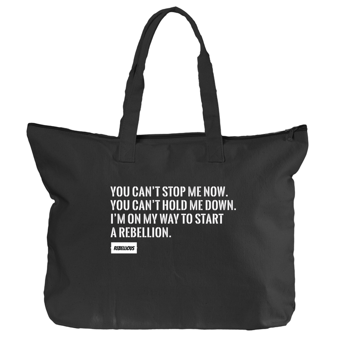 Black Tote: You can't stop me now