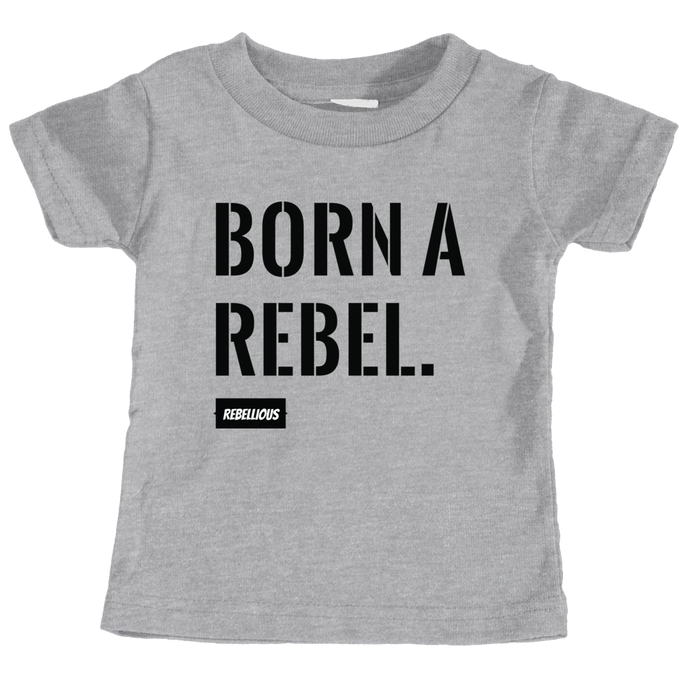 Kids Shirt: Born a Rebel