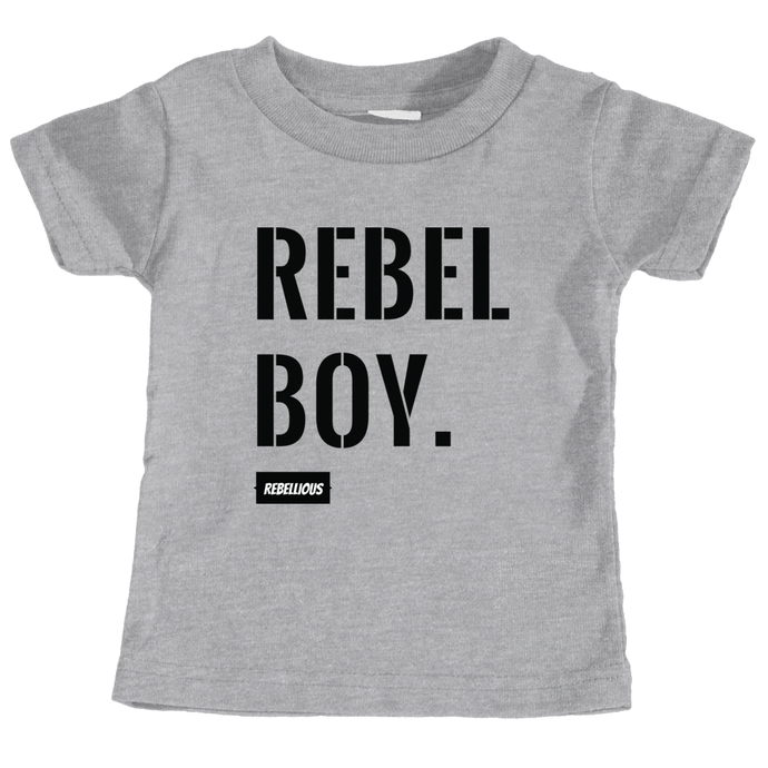 Toddler Shirt: Rebel Boy