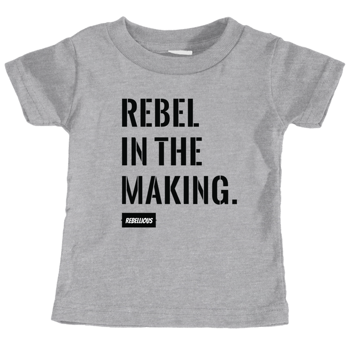 Kids Shirt: Rebel in the making