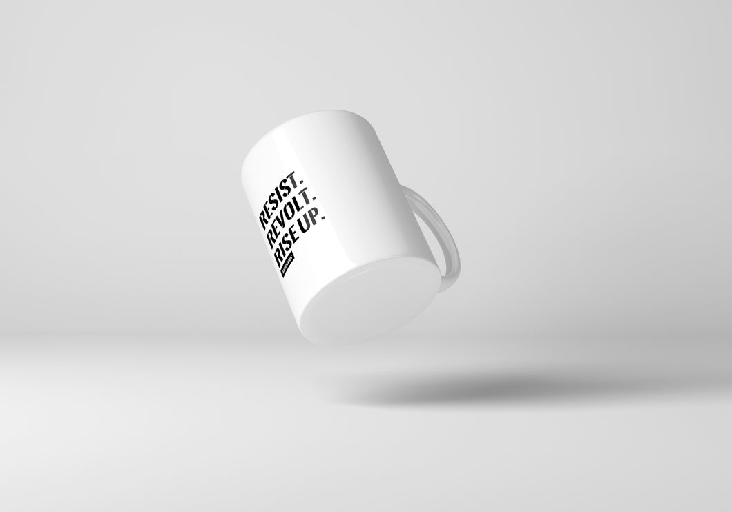 Mug: Resist. Revolt. Rise Up.