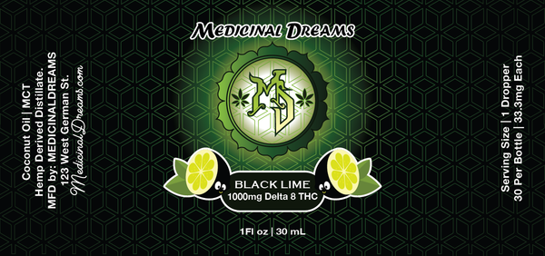 Black Lime | Enhanced Spectrum Serum