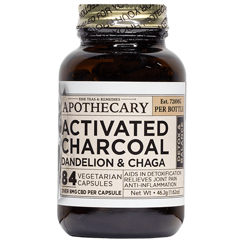 Cleanse | CBD + Activated Charcoal, Dandelion & Chaga