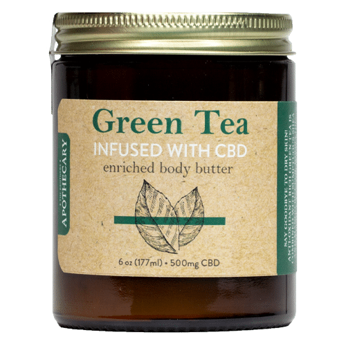 Soothing CBD Body Butter | Green Tea, Primrose & Shea Butter