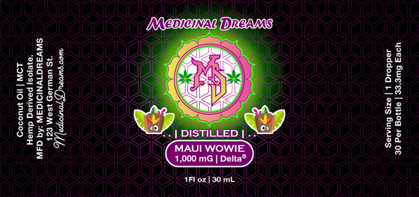 Maui Wowie | Enhanced Spectrum Serum