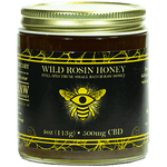 Wild Rosin Honey | CBD Honey