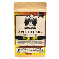 Golden Dream | Hemp CBD Tea