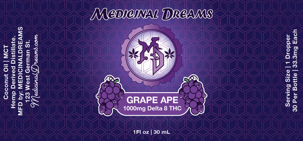 Grape Ape | Enhanced Spectrum Serum