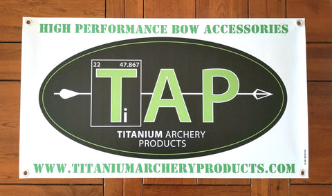 "TAP Banner - 20"" x 35.5"""