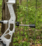 1 Titanium String Stop (TSS) + 1 Hybrid Pro™️ Bowhunting Stabilizer