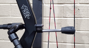 Titanium String Stop (TSS) - SPECIFICALLY FOR PSE Carbon Riser Bows with EXTENDED BUSHING