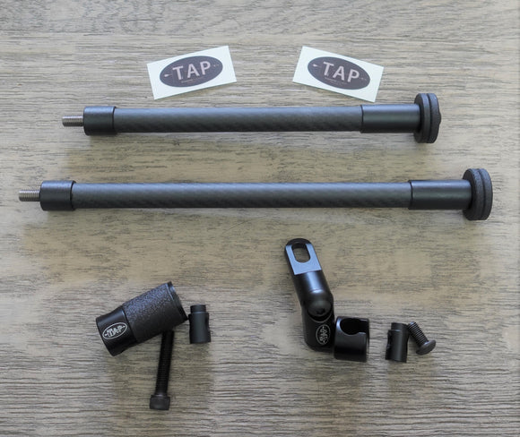 2 TAP-DOA Ultra Light Stabilizers + 1 Side Stabilizer Mount + 1 Gen 3 Quick Disconnect (QD)
