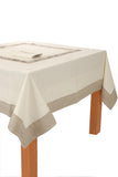 luxurious tablecloth Tablecloth Set - Lipari - Ponti Home