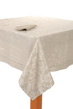 luxurious tablecloth Jacquard Tablecloth Set - Procida