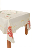luxurious Embroidered Tablecloth Set - Elba
