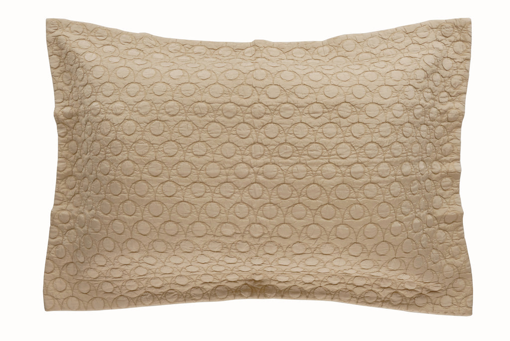 Luxurious Silk & Cotton Piazze Coverlet matelassé