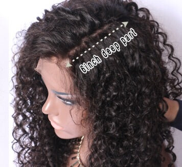 Deep Part Frontal Lace Wig