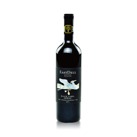 EASTDELL BLACK LABEL SHIRAZ 750ML