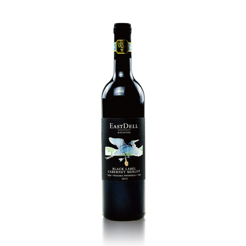 EASTDELL BLACK LABEL CABERNET MERLOT 750ML