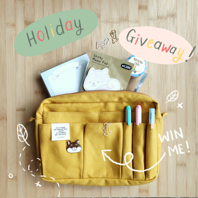 Stationery Holiday Giveaway!