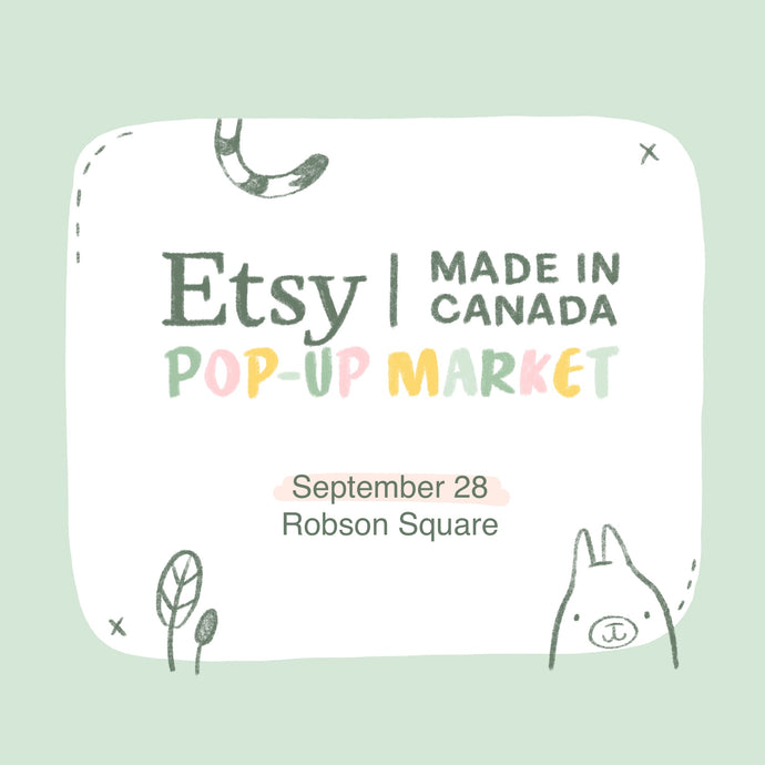 ETSY Made In Canada Market 2019
