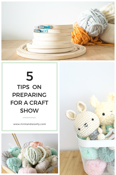 5 Tip on Preparing for a Craft Show