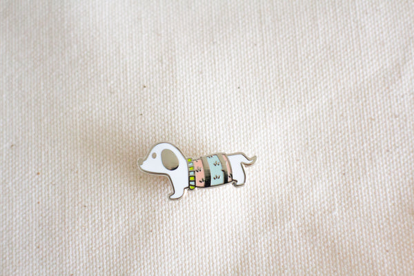 Puppy Dog Enamel Pin