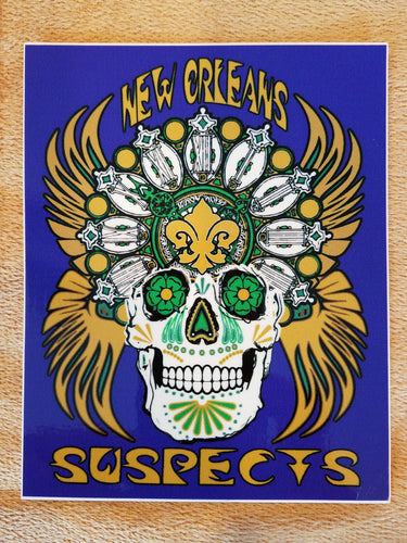Sticker:  Sugar Skull