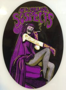 Sticker: Cigarette Smile Lady: