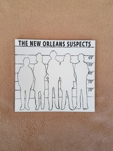 CD: New Orleans Suspects (Self Titled):