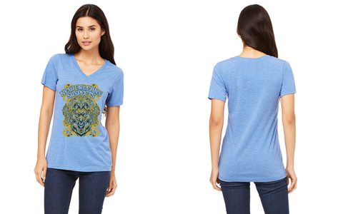 Women's Spirit Animal: T-Shirt: V-Neck