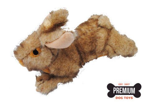 American Classic Rabbit Squeaky Dog Toy