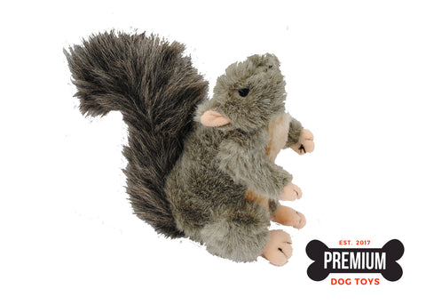 American Classic Squirrel Squeaky Dog Toy