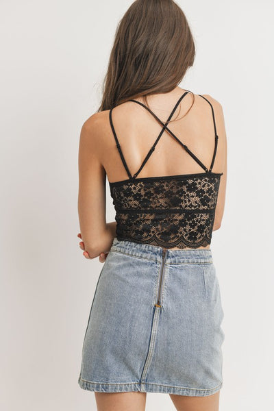 GALLA BRALETTE BLACK