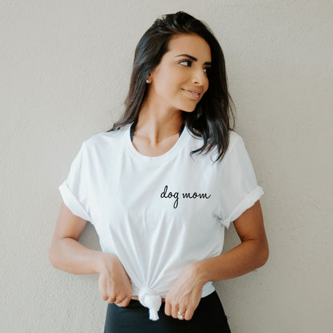 Dog Mom Shirt - Cambridge Avenue Design