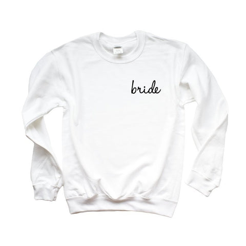 Bride Sweatshirt - Cambridge Avenue Design