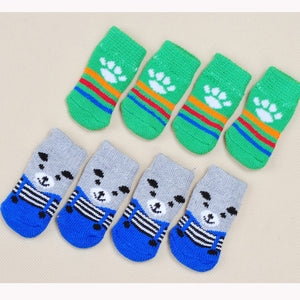 1 Set - Colorful Paw Protectors - 4 Protectors Total