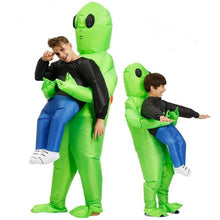 Load image into Gallery viewer, Inflatable Pick Me Up Alien Costume