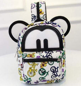 Backpacks Iconic Cartoon Backpack Cycle Print - DiyosWorld