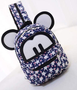Backpacks Iconic Cartoon Backpack Star Print - DiyosWorld