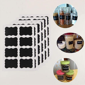 Bottles,Jars & Boxes 36 Pcs/Set Chalkboard Labels-Pantry Labels-Mason Jar Bag Labels - DiyosWorld