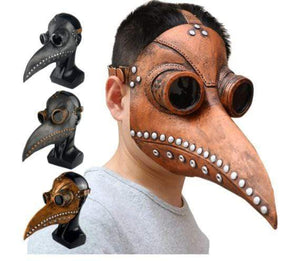 Boys Costume Accessories Gothic Doctor Plague Mask - DiyosWorld