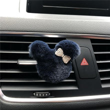 Load image into Gallery viewer, New Plush Cartoon Bow Tie Car Air Freshener